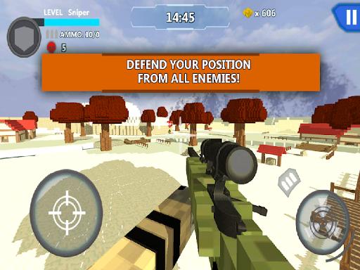 Cube Wars Battle Survival screenshots 10