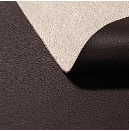 Läderimitation - mörkbrun