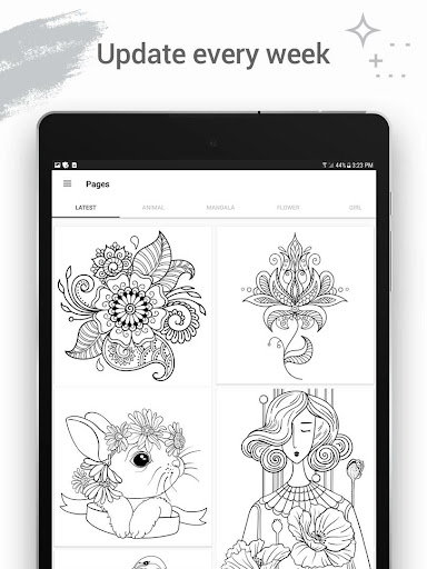 Coloring Fun 2019: Free Coloring Pages & Art games android2mod screenshots 12