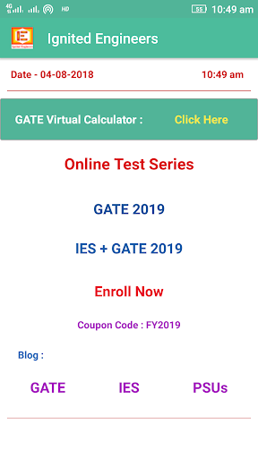 GATE Calculator - 100% Accurate 1.2 screenshots 1