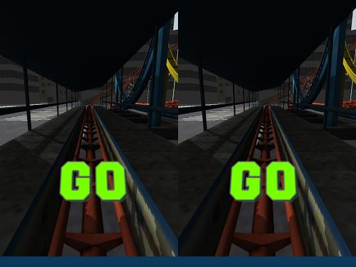 Roller Coaster Cardboard VR