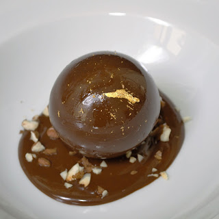 Http://privatechefcorfu.com/filled-chocolate-sphere-with-gianduja-and-gold-leaf/
