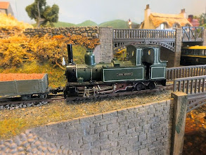 Photo: 017 I remember this model being advertised in the Backwoods Miniatures kit catalogue some years ago, but I don't think I have ever seen a completed model before. It is an 0-6-4T and I think I remember it being a model of a locomotive built by the Yorkshire Engine Company. If I am wrong, I am sure I will be informed quickly enough! A very attractive and well finished model indeed anyway .