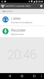 BeONAIR Corporate Client APK screenshot thumbnail 1