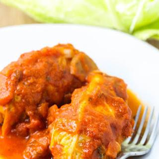 Turkey Stuffed Cabbage Rolls.