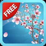 Abstract Sakura Wallpaper Free Icon