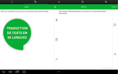 Dictionnaire PONS en ligne – Applications Android sur