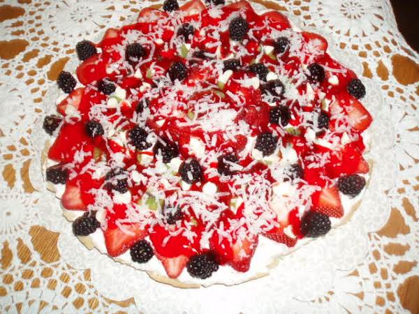 Momma's Fruit Pizza Recipe