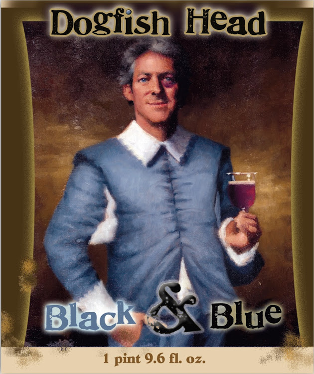 Logo of Dogfish Head Black And Blue