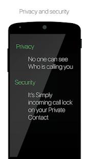 Hide Caller ID - náhled