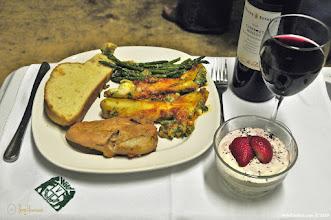 Photo: Dinner is served at WildExodus Adventure Travel