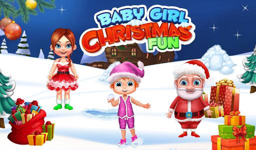 Baby Girl Christmas Fun