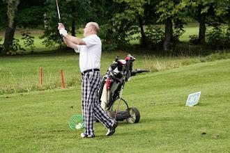 Photo: Holger Theurer im perfekten Golfer-Outfit. Heute noch mehr einspielen als gestern??