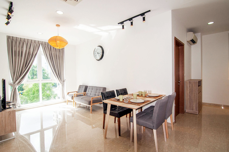Comfy living area at Toa Payoh Apartments, Balestier