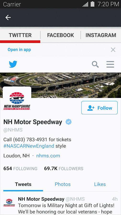 New Hampshire Motor Speedway- screenshot