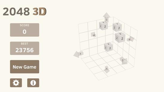 2048 3D - náhled