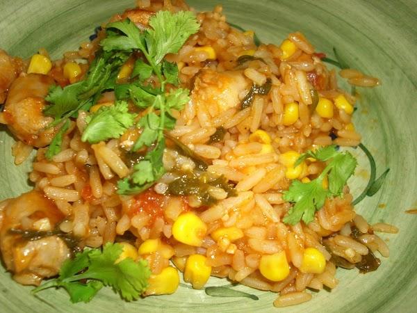 Tex-mex Rice With Corn Recipe
