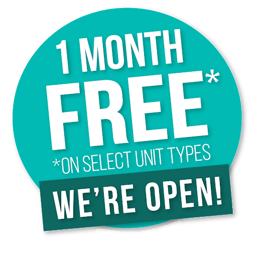 One Month Free *One Select Units - We're Open