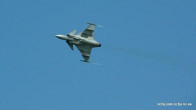 Photo: Swedish Air Force JAS-39C Gripen