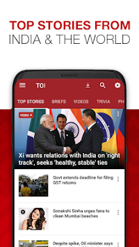 News By The Times Of India APK screenshot thumbnail 1