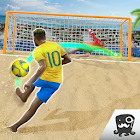 Free Kick Beach Football Games 2018 icon