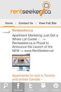 RentSeeker.ca- screenshot thumbnail