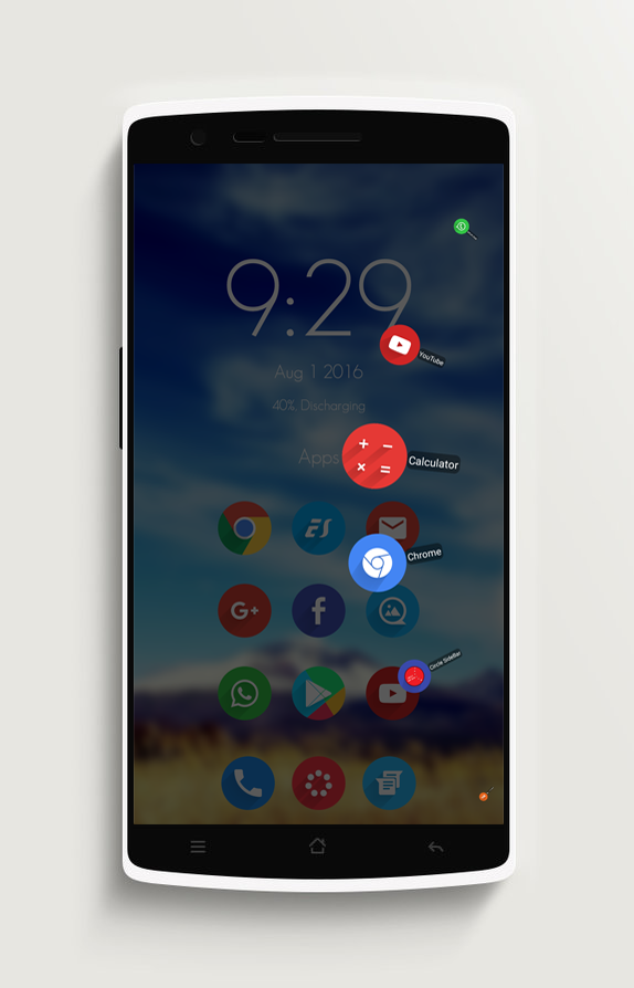 Circle Sidebar Pro- screenshot