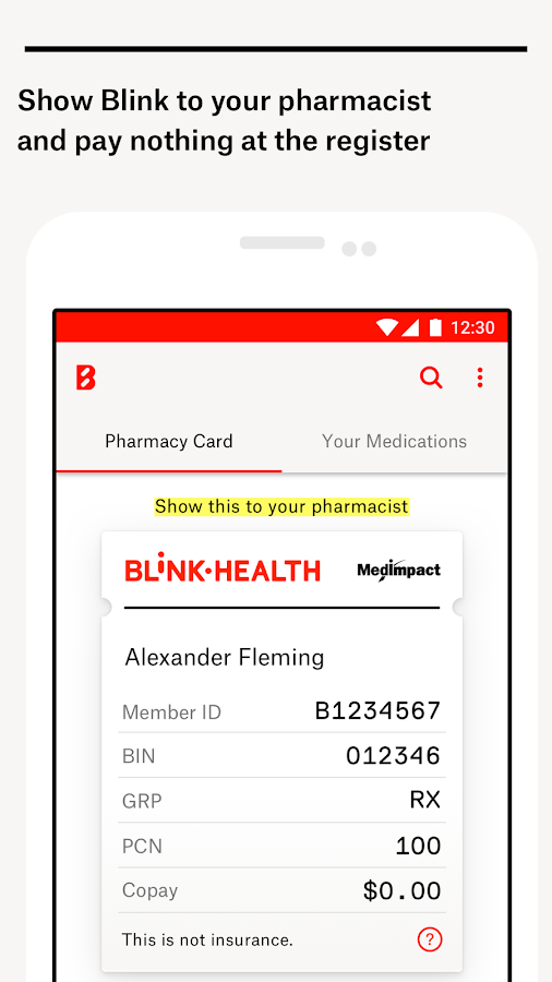 Blink Health Low Rx Prices  Android Apps on Google Play