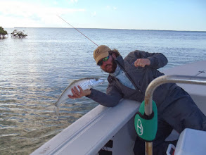 Photo: Brian Flechsig of Mad River Outfitters hosts the Andros Island Bonefish Trip- November 6th- 13th 2010