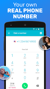 TextMe Up Free Calling & Texts App Download For Android 2