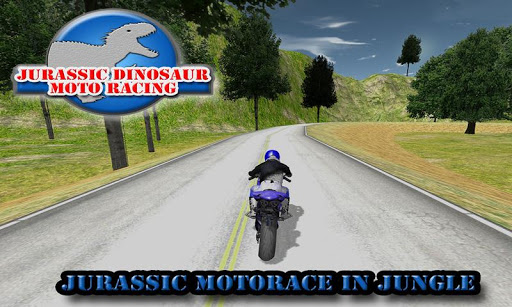 Jurassic Dinosaur Moto Racing