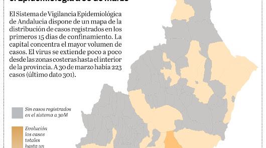 Dos semanas de confinamiento: ¿Qué municipios registran positivos por covid?