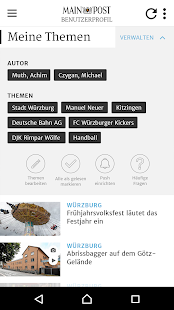 Main-Post News – Miniaturansicht des Screenshots