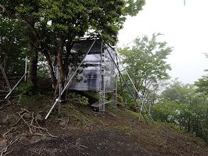 Ⅱ峰の小屋?