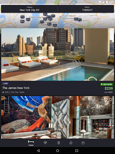HotelTonight: Book amazing deals at great hotels screenshots 7