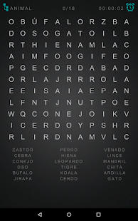 Word Search: Spanish- screenshot thumbnail