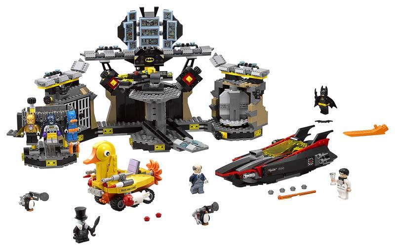 Contenido de Lego® 70909 Intrusos en la Batcueva