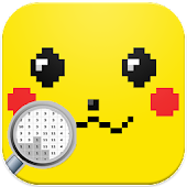 Pika Pixel Art - New Pokemon Coloring By Numbers Icon