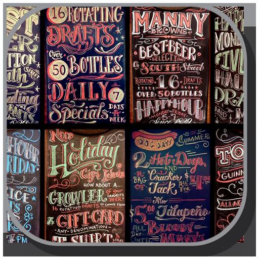 Chalkboard Lettering Gallery