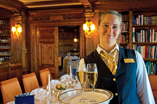 Lindblad-Expeditions-Sea-Cloud-Staff.jpg - Sea Cloud's crew will attend to your needs during your Lindblad-National Geographic Expeditions vacation.