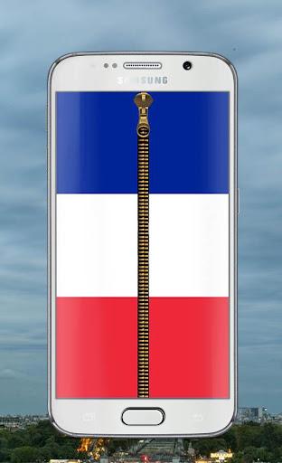 France Flag Lock screen