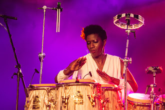 Photo: Jazz Rally 2014 - Incognito - Vanessa Haynes on Percussion