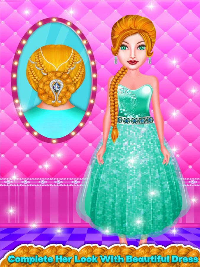 Hairstyles Games new diva hairstyles cute hairstyles Braided Hairstyles Girls Games Screenshot