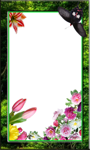 Editor flower Photo Frames