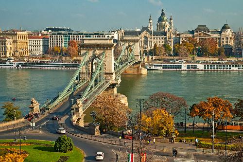 Budapest xinh đẹp lãng mạn khi vào mùa thu