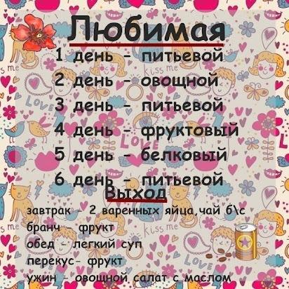 """Офигенная"""" диета на 14 дней www. Nalivka. Net."""