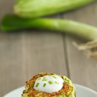 Zucchini Fritters (Low Carb & Gluten-Free) Recipe
