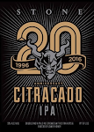 Logo of Stone 20th Anniversary Citracado IPA