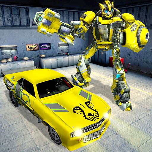 War Robot Car Transformer Games (game)