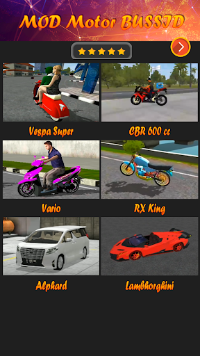 Mod Motor Bussid 1.7 Screenshots 4